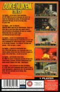 Duke Nukem 3D SEGA Saturn Back Cover