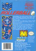 Rollerball NES Back Cover