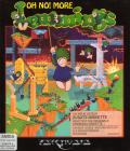 Oh No! More Lemmings Amiga Front Cover