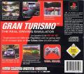Gran Turismo PlayStation Back Cover