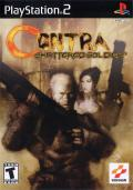 Contra: Shattered Soldier PlayStation 2 Front Cover