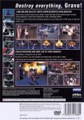 Gungrave PlayStation 2 Back Cover