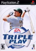 Triple Play Baseball PlayStation 2 Front Cover