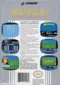 Jack Nicklaus' Greatest 18 Holes of Major Championship Golf NES Back Cover