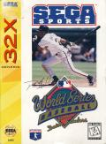World Series Baseball starring Deion Sanders SEGA 32X Front Cover