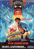 Street Fighter II': Special Champion Edition Genesis Front Cover