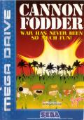 Cannon Fodder Genesis Front Cover