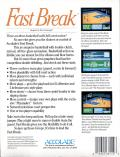 Fast Break DOS Back Cover