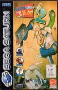 Earthworm Jim 2 SEGA Saturn Front Cover