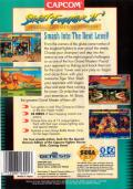 Street Fighter II': Special Champion Edition Genesis Back Cover