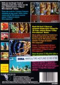 Shadow of the Beast Genesis Back Cover