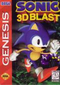 Sonic 3D Blast Genesis Front Cover