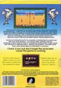 Venice Beach Volleyball NES Back Cover