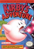 Kirby's Adventure NES Front Cover