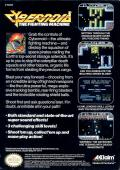 Cybernoid: The Fighting Machine NES Back Cover