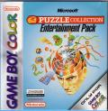 Microsoft Puzzle Collection Entertainment Pack Game Boy Color Front Cover