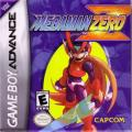 Mega Man Zero Game Boy Advance Front Cover