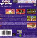 Pinky and the Brain: The Master Plan Game Boy Advance Back Cover