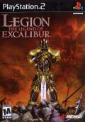 Legion: The Legend of Excalibur PlayStation 2 Front Cover