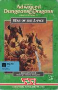 War of the Lance DOS Front Cover