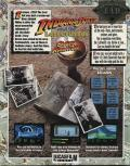 Indiana Jones and The Last Crusade: The Graphic Adventure Atari ST Back Cover
