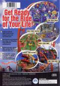 Sim Theme Park PlayStation 2 Back Cover