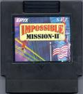 Impossible Mission II NES Media Color label version