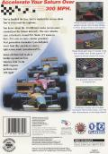Time Warner Interactive's VR Virtua Racing SEGA Saturn Back Cover