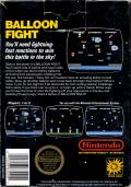 Balloon Fight NES Back Cover