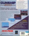 Gunship 2000: Philippine Islands & Antarctica Scenario Disk With Mission Builder DOS Back Cover