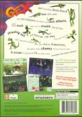 Gex PlayStation Back Cover