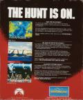 The Hunt for Red October Amiga Back Cover