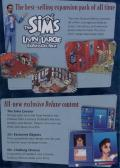The Sims: Deluxe Edition Windows Inside Cover Right Flap