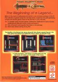 Konami Collector's Series: Castlevania & Contra Windows Back Cover