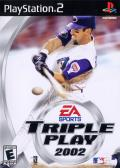 Triple Play 2002 PlayStation 2 Front Cover