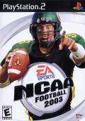 NCAA Football 2003 PlayStation 2 Front Cover