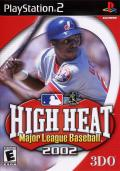 High Heat Major League Baseball 2002 PlayStation 2 Front Cover