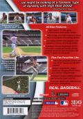 High Heat Major League Baseball 2002 PlayStation 2 Back Cover