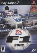 F1 2002 PlayStation 2 Front Cover