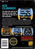 Ice Climber NES Back Cover