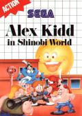 Alex Kidd in Shinobi World SEGA Master System Front Cover