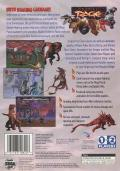 Primal Rage SEGA Saturn Back Cover