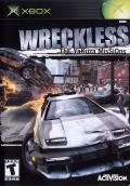 Wreckless: The Yakuza Missions Xbox Front Cover
