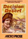 Decision in the Desert PC Booter Front Cover