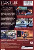 Bruce Lee: Quest of the Dragon Xbox Back Cover