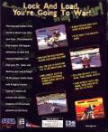 Cyber Troopers Virtual On Windows Back Cover