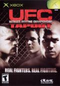 Ultimate Fighting Championship: Tapout Xbox Front Cover