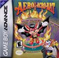 Aero the Acro-Bat Game Boy Advance Front Cover