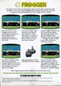 Frogger Atari 2600 Back Cover
