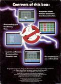 Ghostbusters Atari 2600 Back Cover